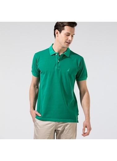 Nautica K01111T.3PX Nautıca Erkek Yeşil Classıc Fıt Polo Yeşil